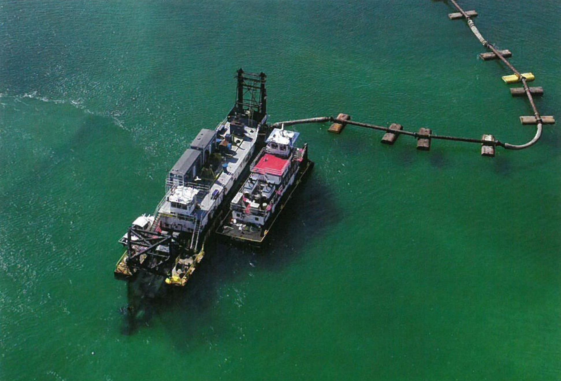 Pipeline DQM Program Underway with Two Dredges Certified and Working